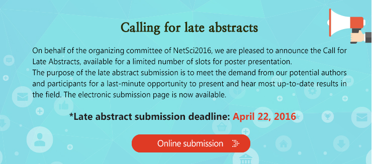late_abstracts http://netsci2016.net/late_abstracts.php