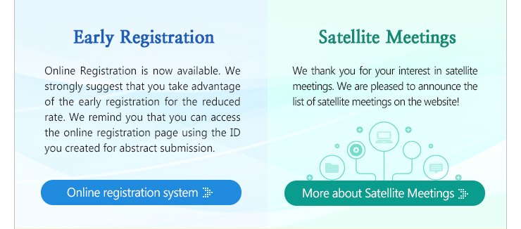 Accepted Satellite Meetings Abstract Information: http://netsci2016.net/satellite.php